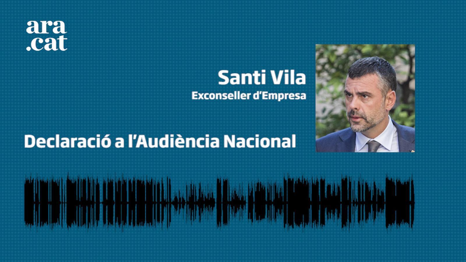 Santi Vila declara a l'Audiència Nacional - testimoni 1