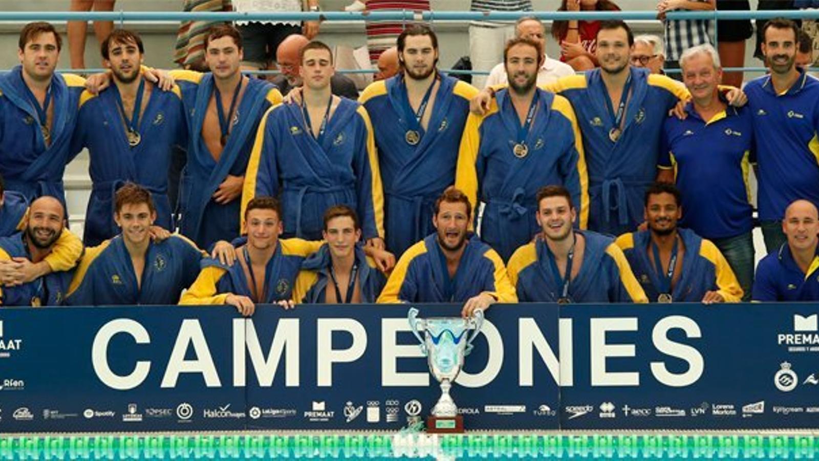 L'Atlètic Barceloneta guanya la Supercopa per quart any consecutiu