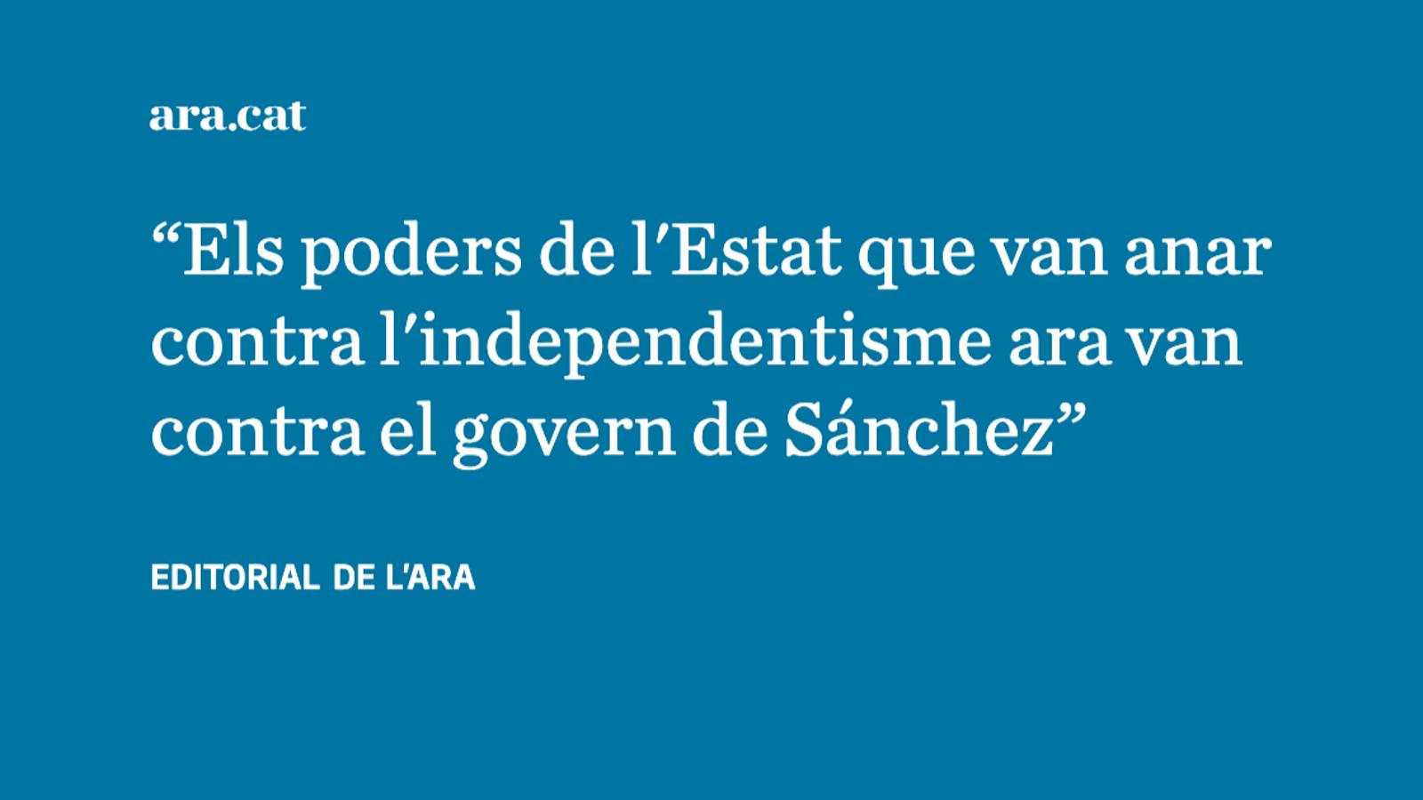 El govern espanyol topa amb el 'deep state'