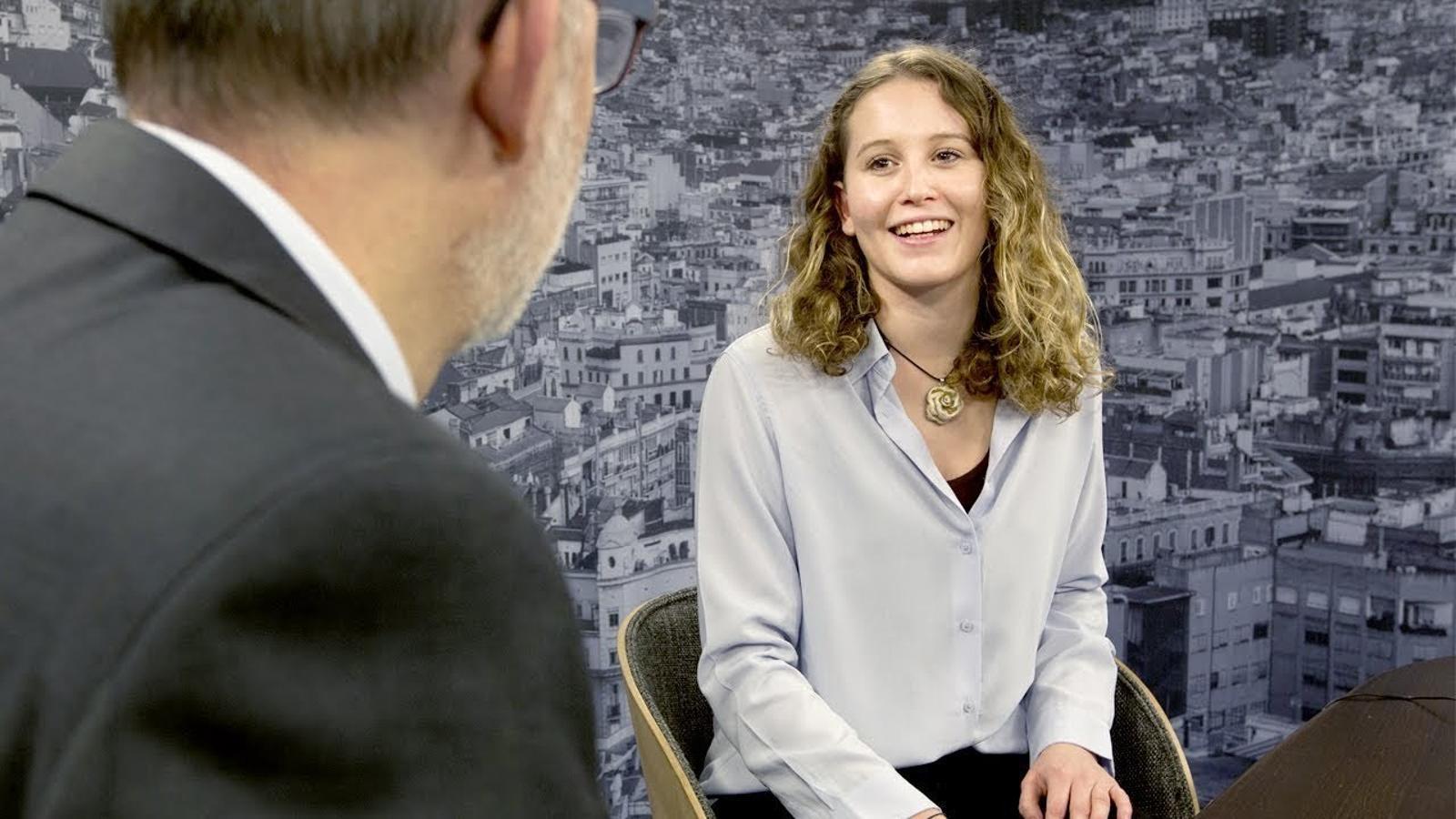 Entrevista d'Antoni Bassas a Giulia Duch