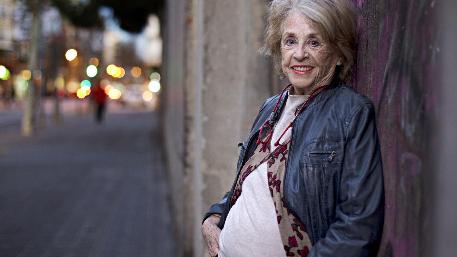 L'actriu Montserrat Carulla, en una imatge d'arxiu