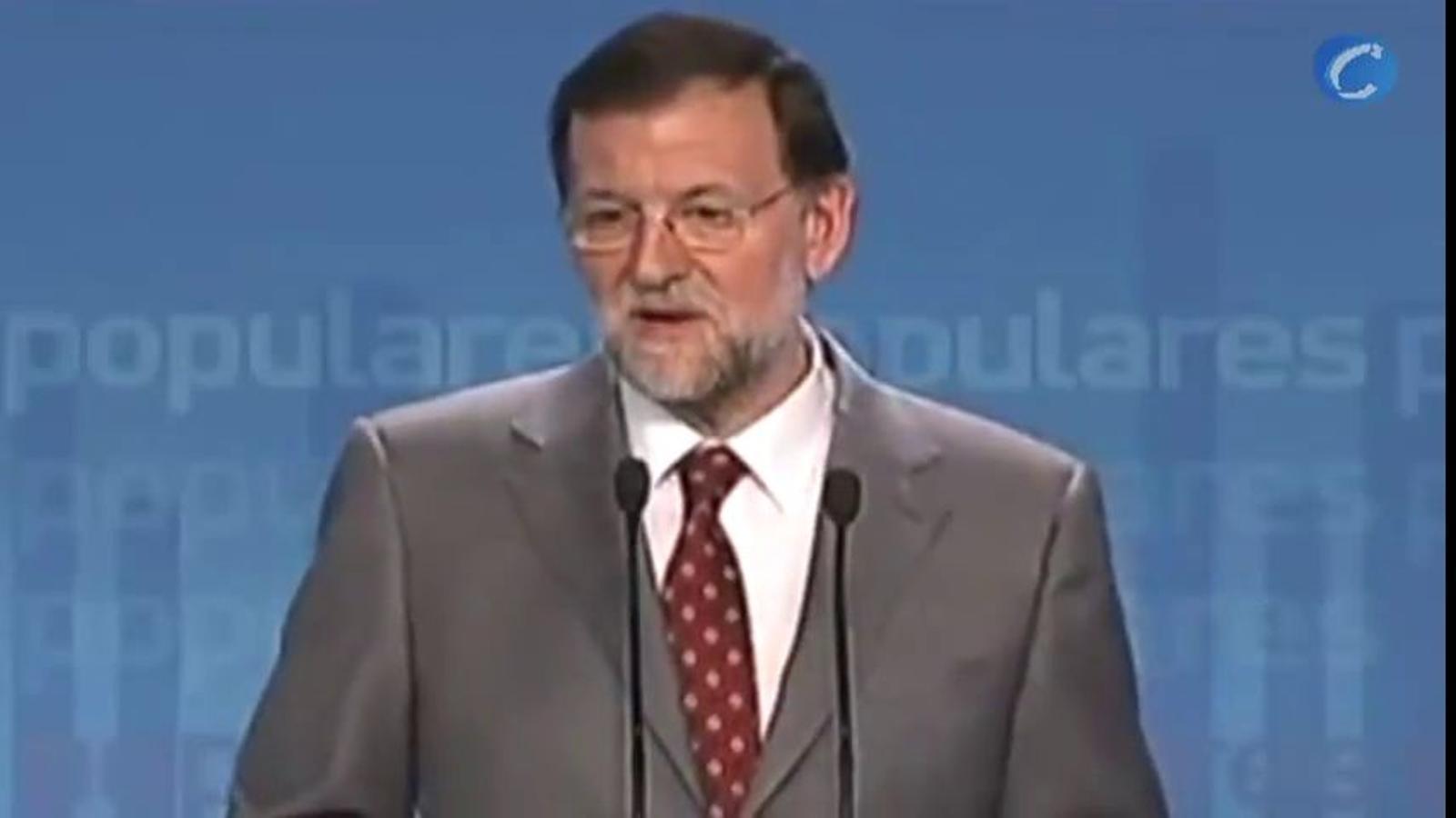 Rajoy va negar fa deu dies que hi hauria un rescat de la banca