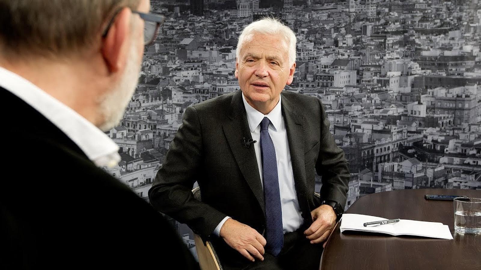 Entrevista d'Antoni Bassas a Ferran Mascarell