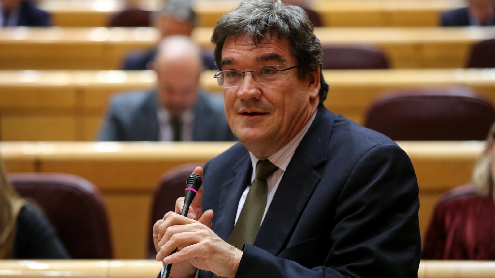 El ministre de Seguretat Social, Inclusió i Migracions, José Luis Escrivá, en una imatge recent.
