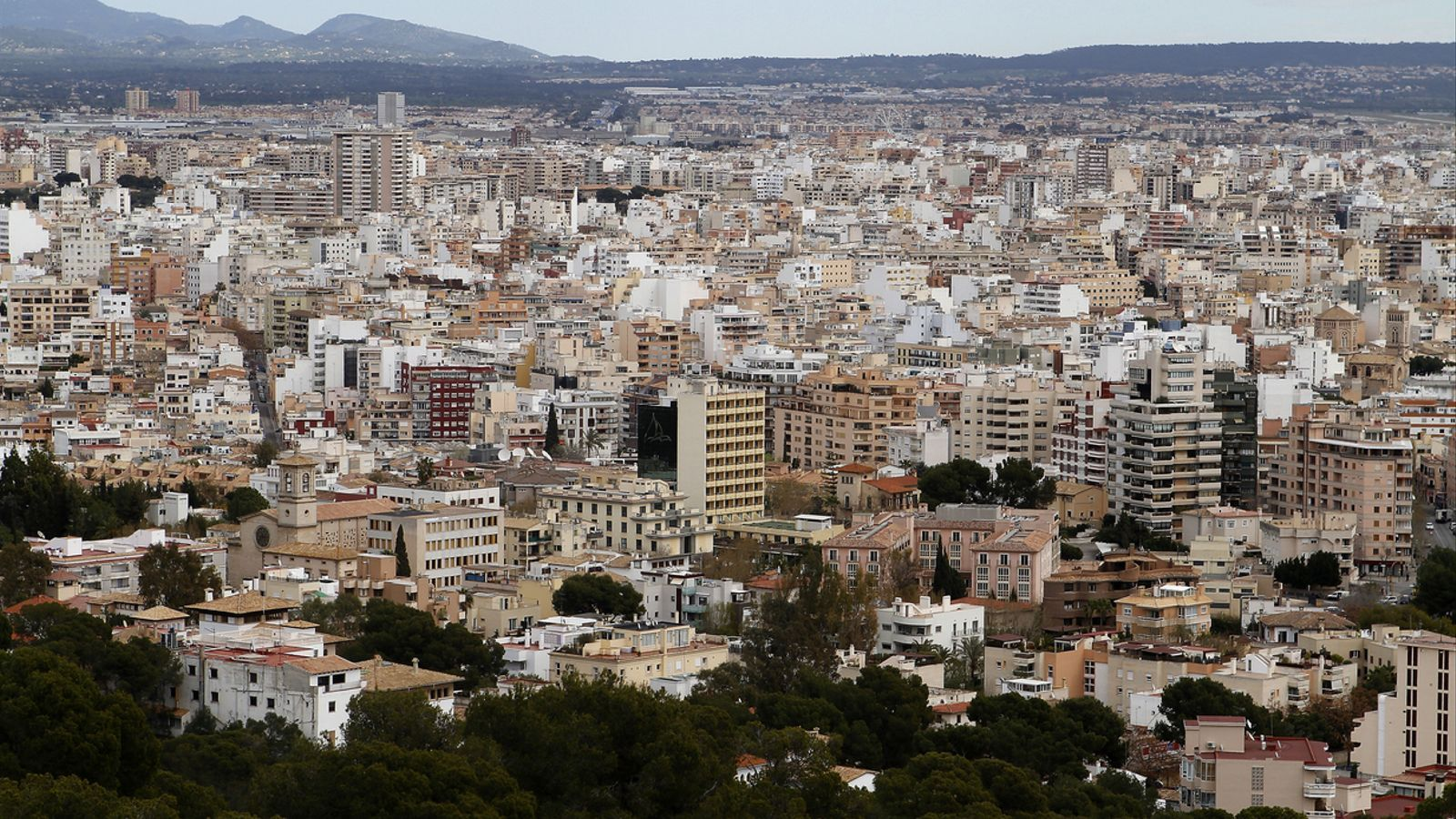 Una vista general de Palma. / ARA BALEARS