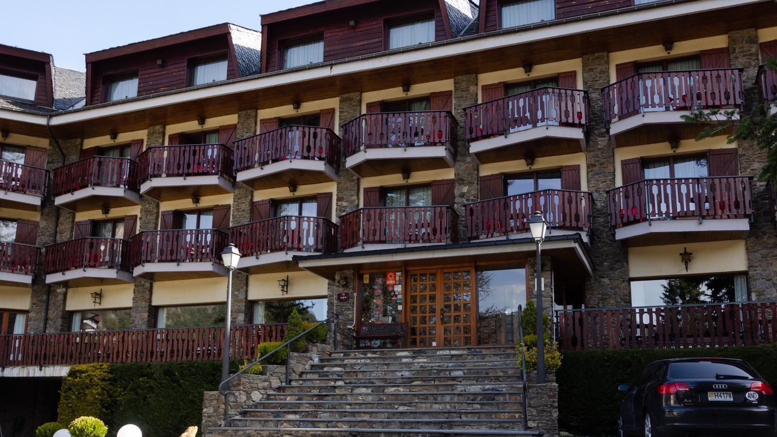 Un hotel a Ordino. / ANA