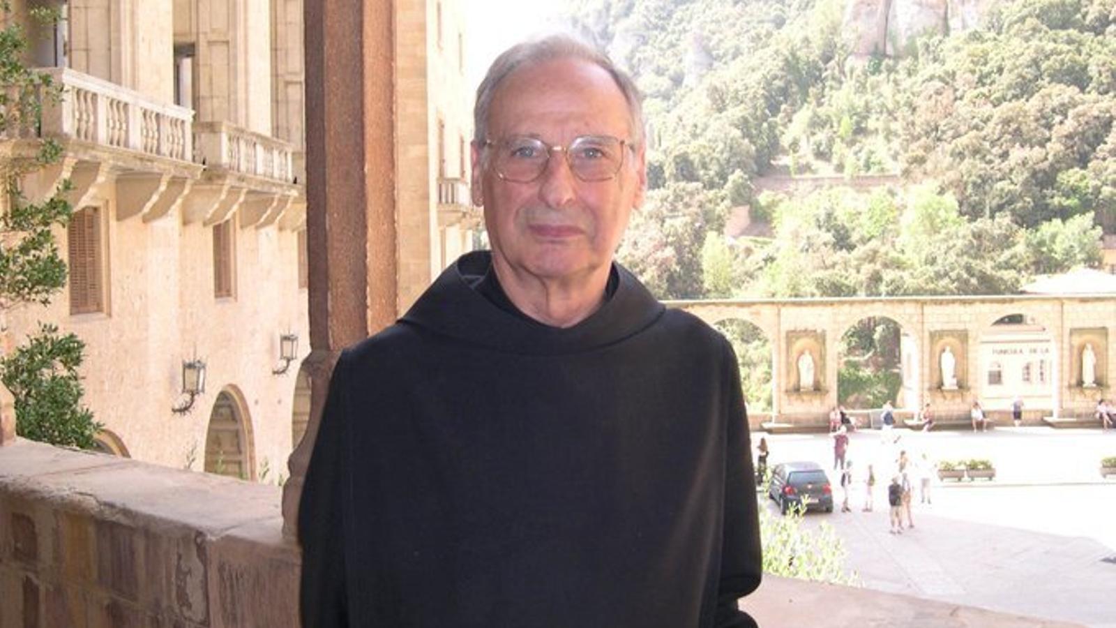 Hilari Raguer, historiador i monjo de Montserrat
