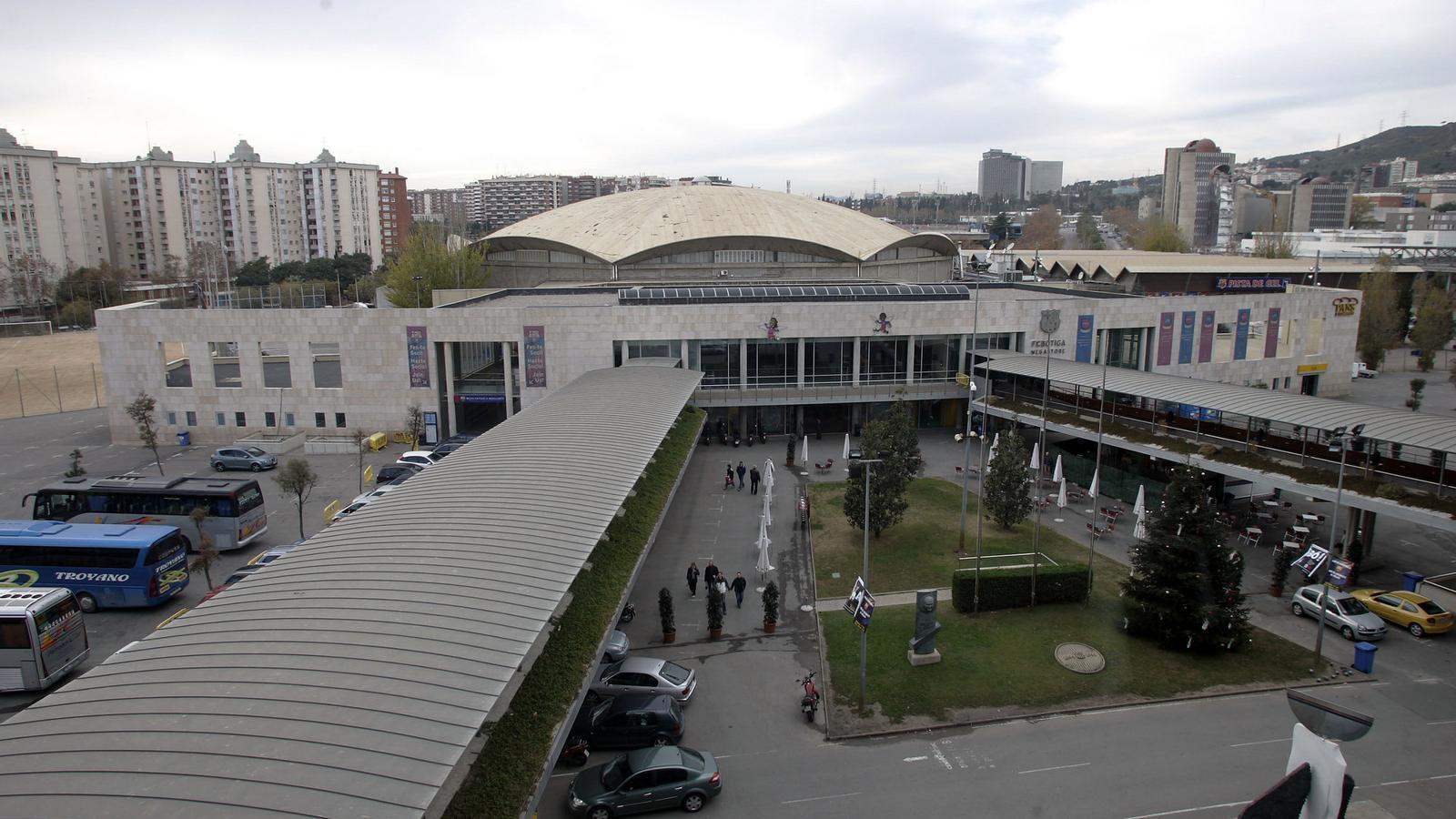 El projecte per substituir el palau blaugrana aparcat for Puerta 0 palau blaugrana