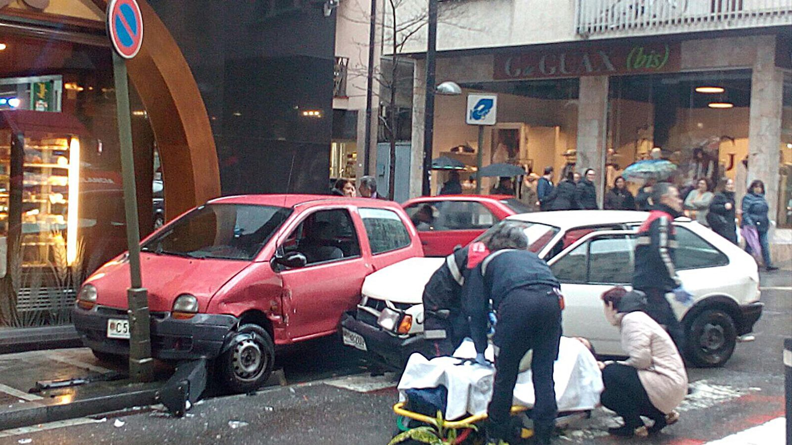 Accident a Andorra la Vella