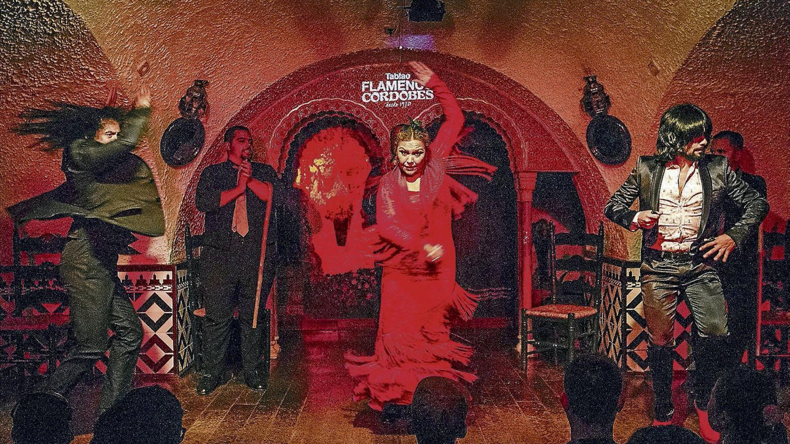 El flamenc no és   (només)  Per a guiris