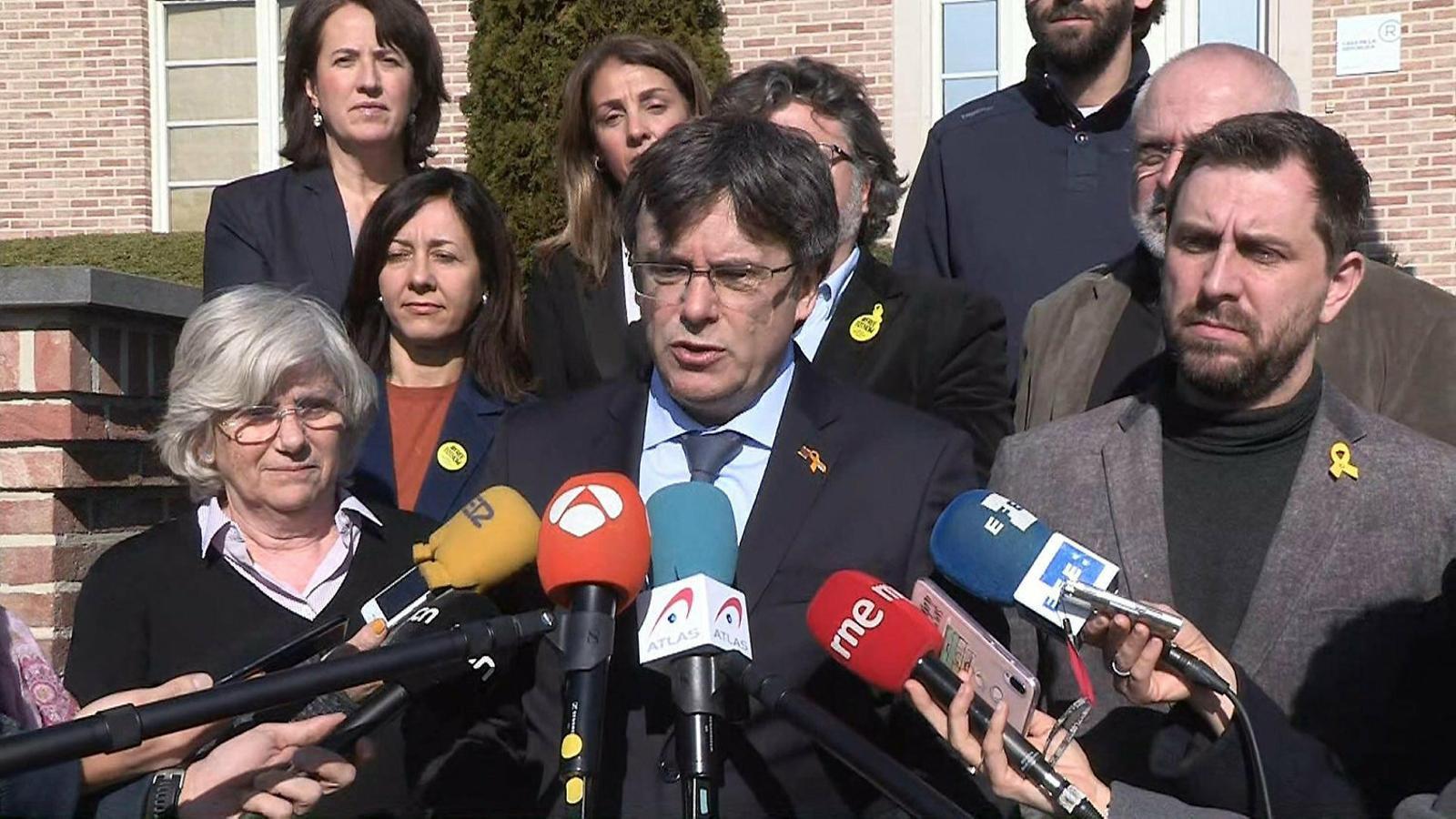 Una JEC dividida exclou Comín, Puigdemont i Ponsatí del 26-M