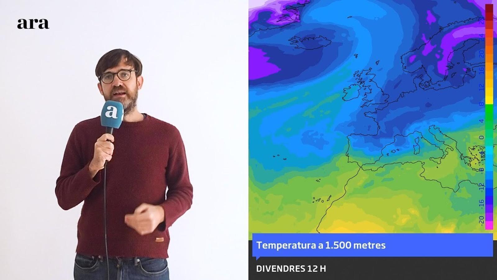 La méteo: Nadal amb fred intens, tramuntana i neu a cotes baixes