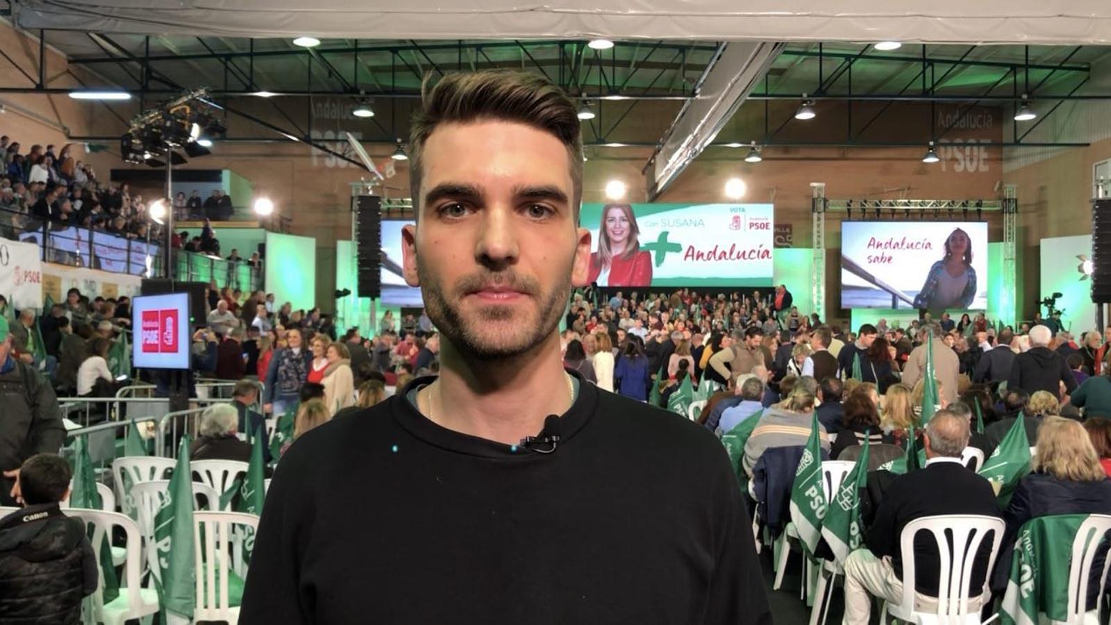Diari de campanya de les andaluses (5): Díaz no les té totes