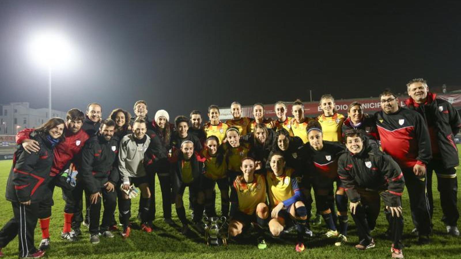 La selecció catalana absoluta, a Galícia