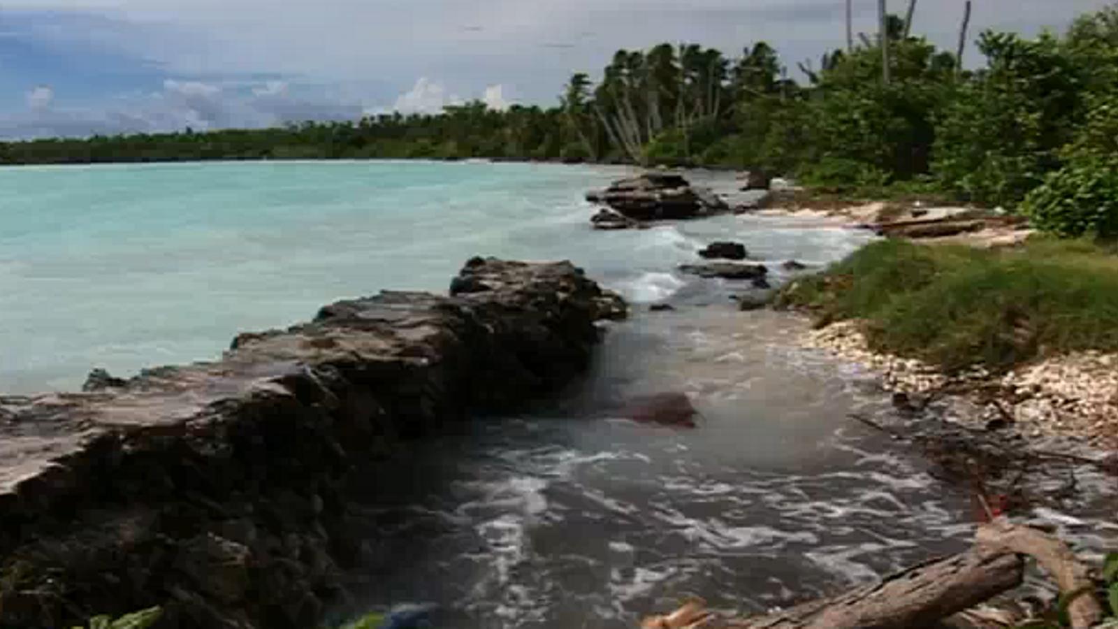 El canvi climàtic es fa real a Kiribati