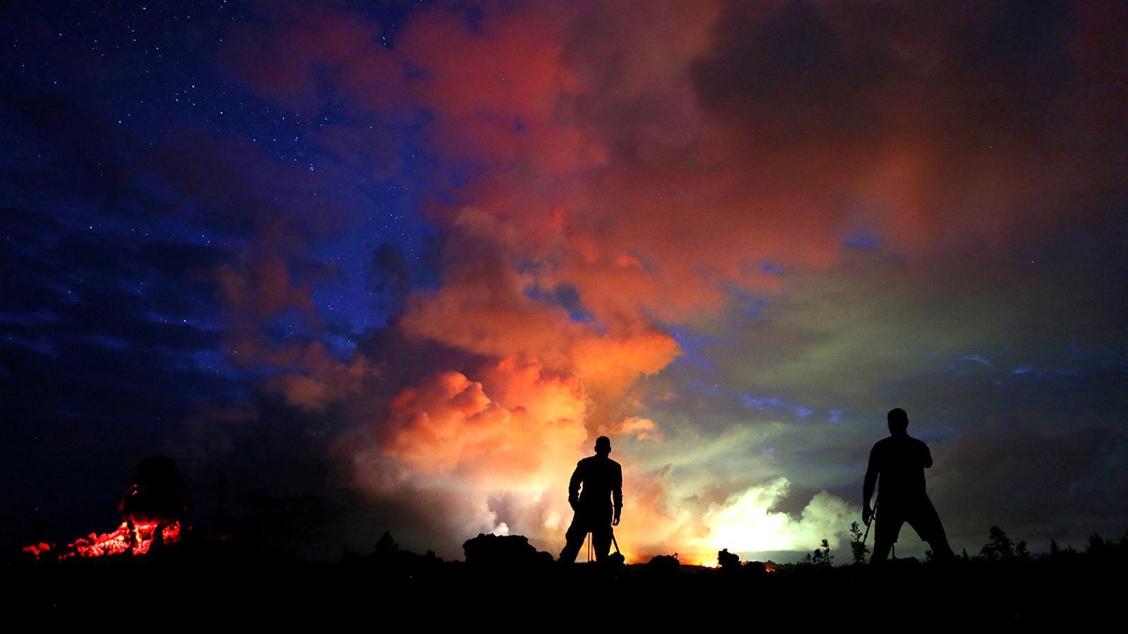 Fotogaleria de l'erupció que posa en alerta Hawaii