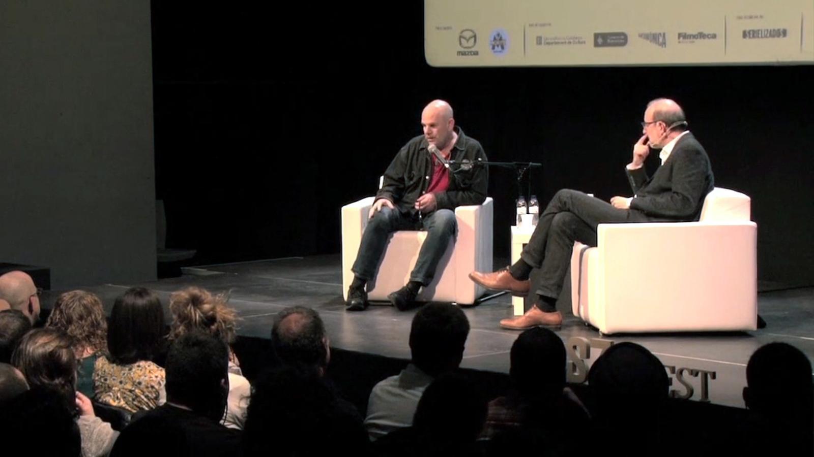 Política nord-americana i sèries: la conversa entre David Simon i Antoni Bassas