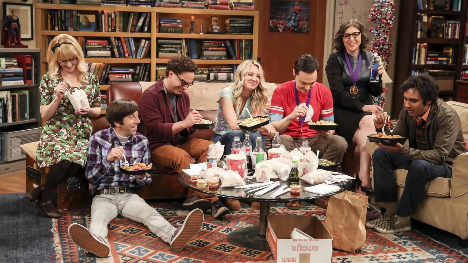 El final de 'The Big Bang theory' bat el rècord històric de Neox
