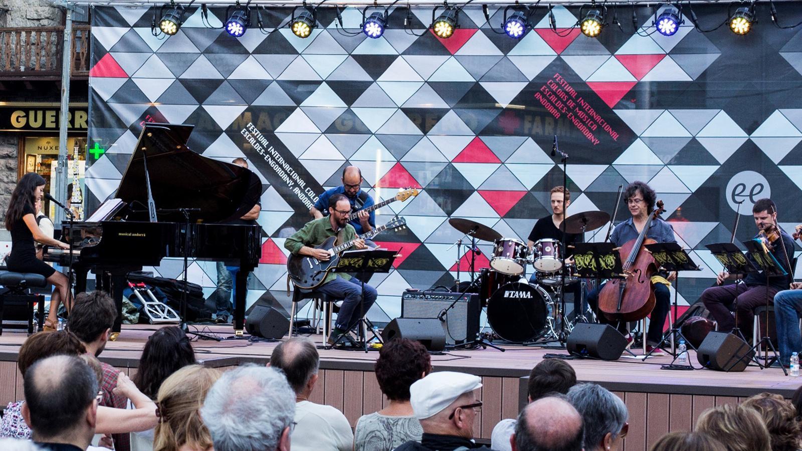 Un concert anterior de l'ONCA al festival Colors de Música. / Àlex Rispall