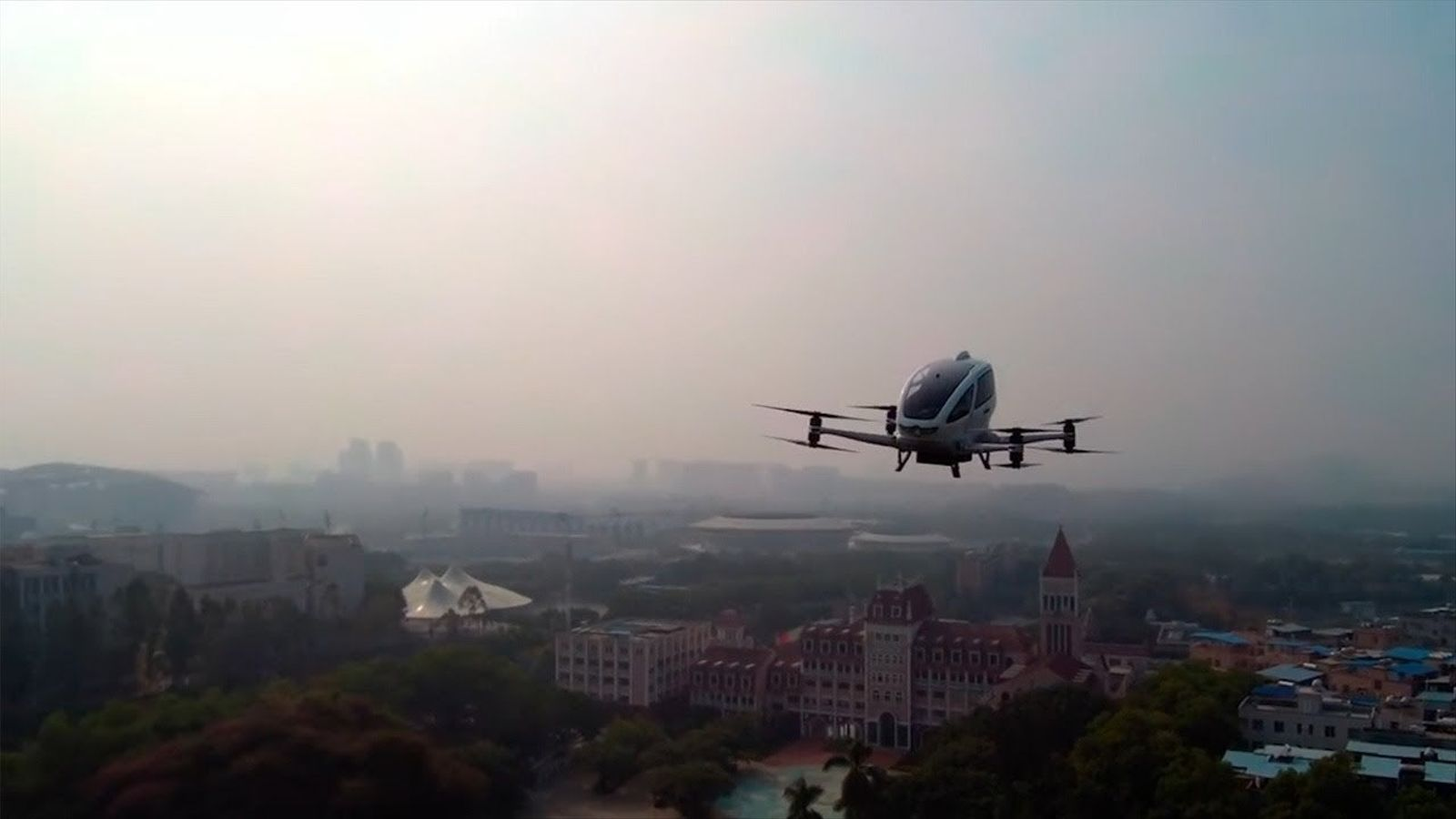 Taxis voladors i fàbriques connectades a la ciutat del futur