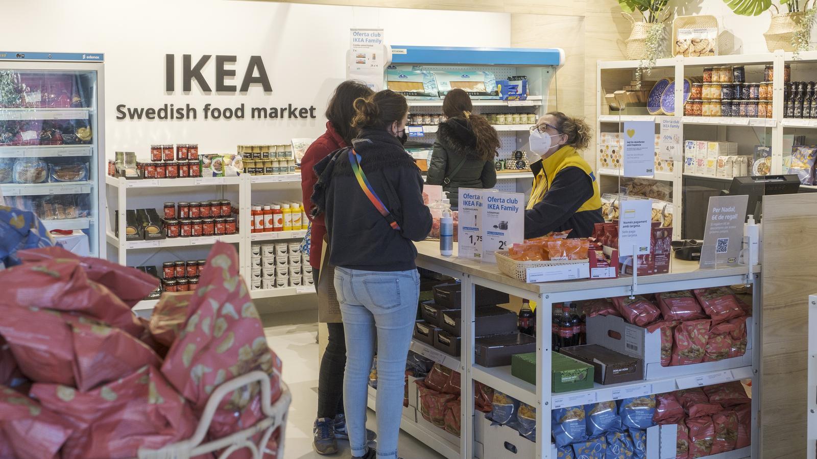 Botiga d'alimentació d'Ikea