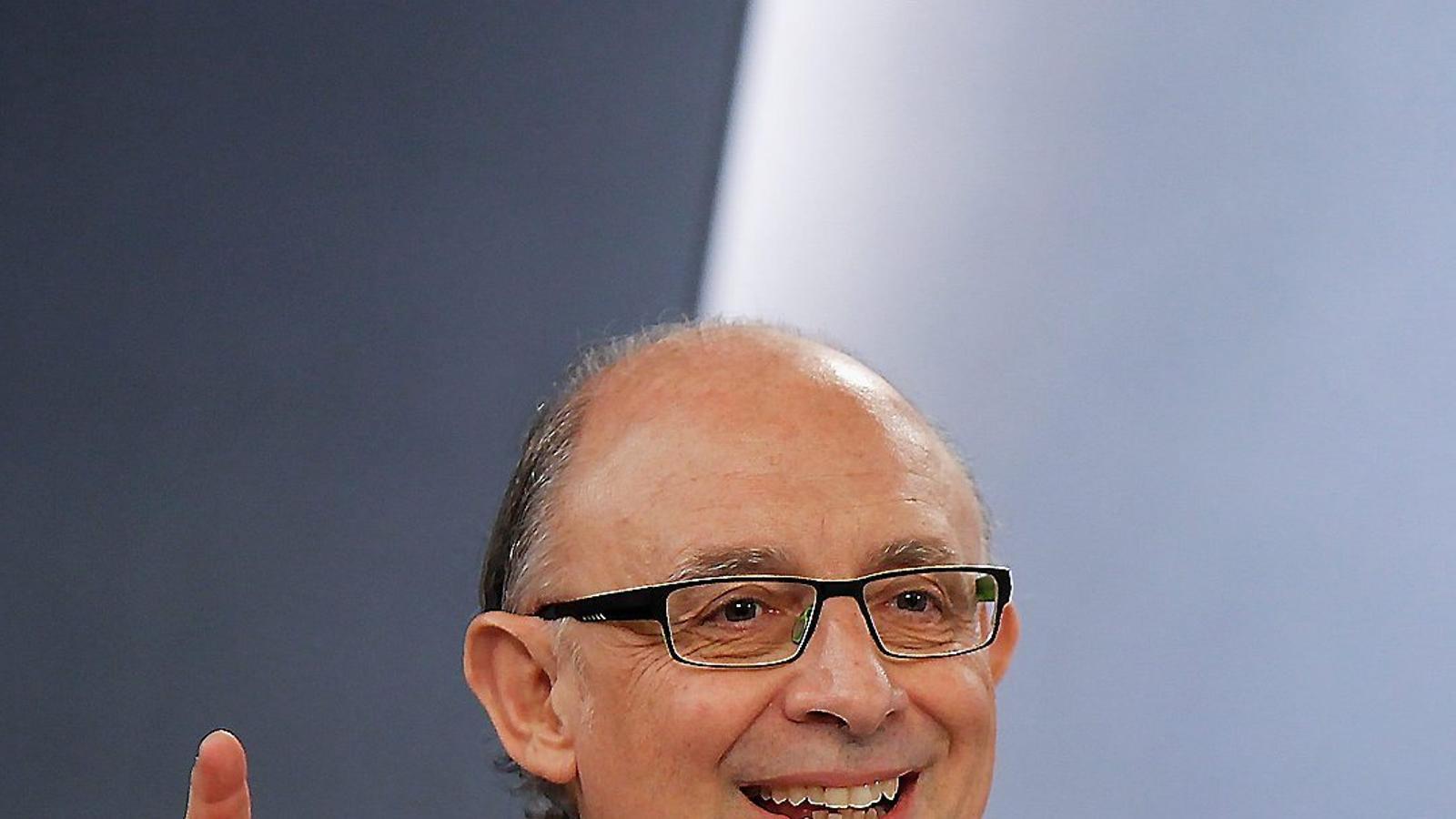 El ministre d'Hisenda, Cristóbal Montoro, ha pilotat els canvis en l'impost que han fet que la recaptació no remunti.