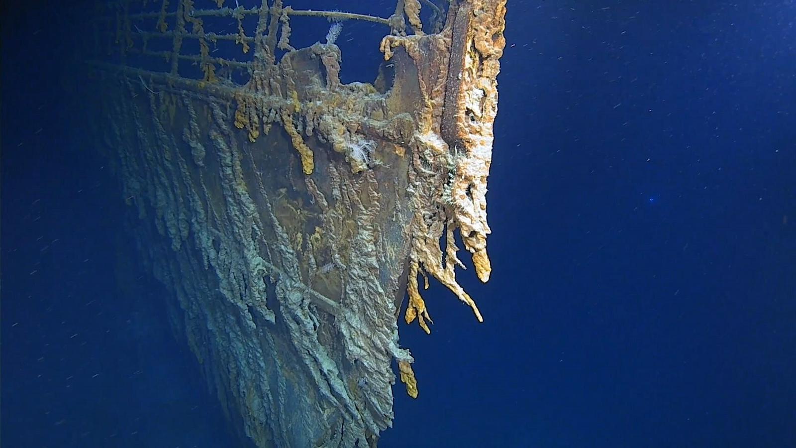 Una de les imatges extretes durant l'expedició