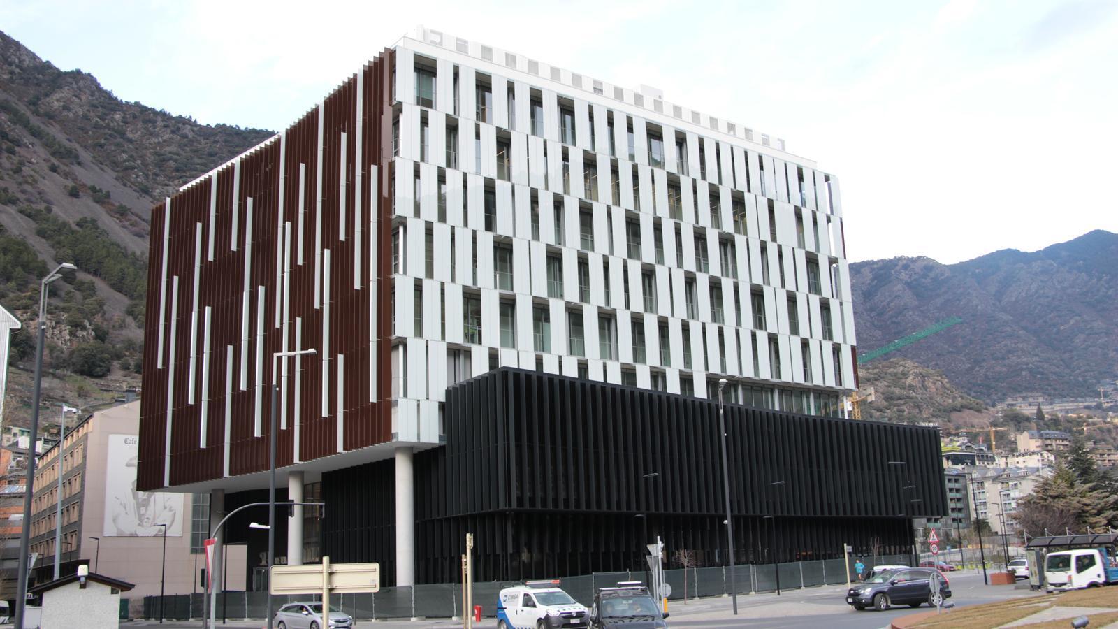 L'edifici estarà operatiu al principi de l'estiu. / M. P.