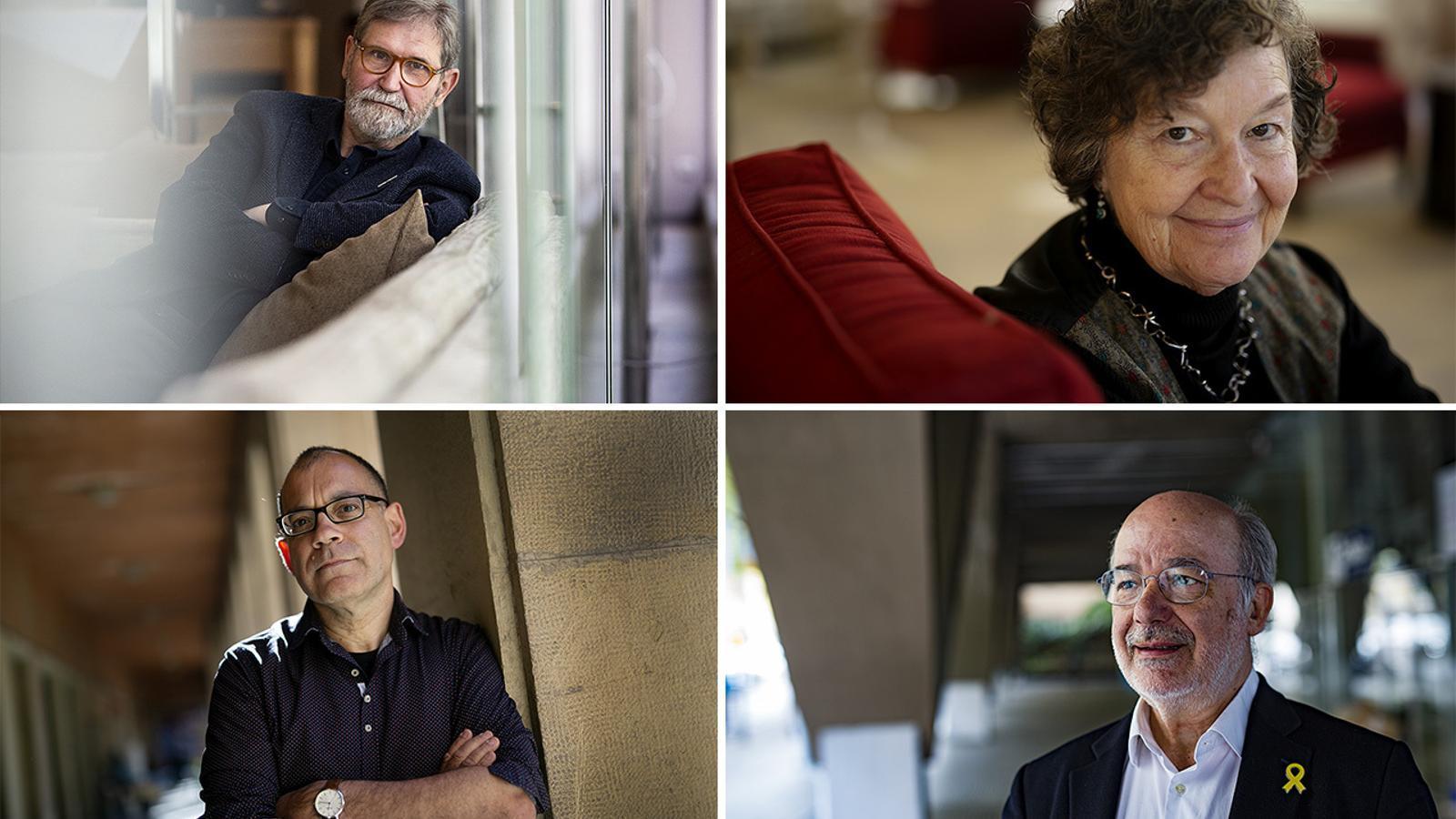 Ramon Solsona, Maria Barbal, Toni Sala i Josep Maria Terricabras s'han donat de baixa del PEN Català