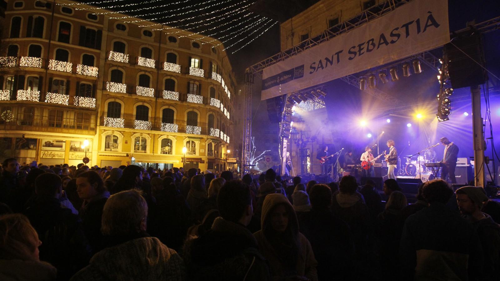 L'Ajuntament de Palma es planteja cancel·lar la revetla de Sant Sebastià per mal temps