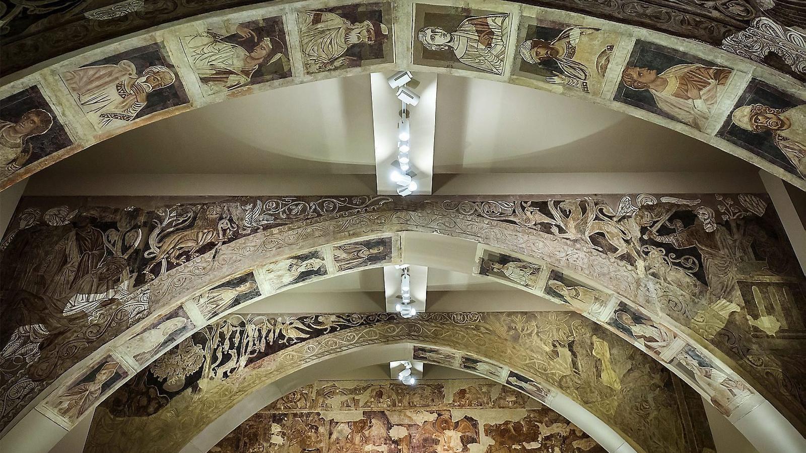 Un nou estudi sobre els murals Sixena conclou el mateix: no es poden traslladar