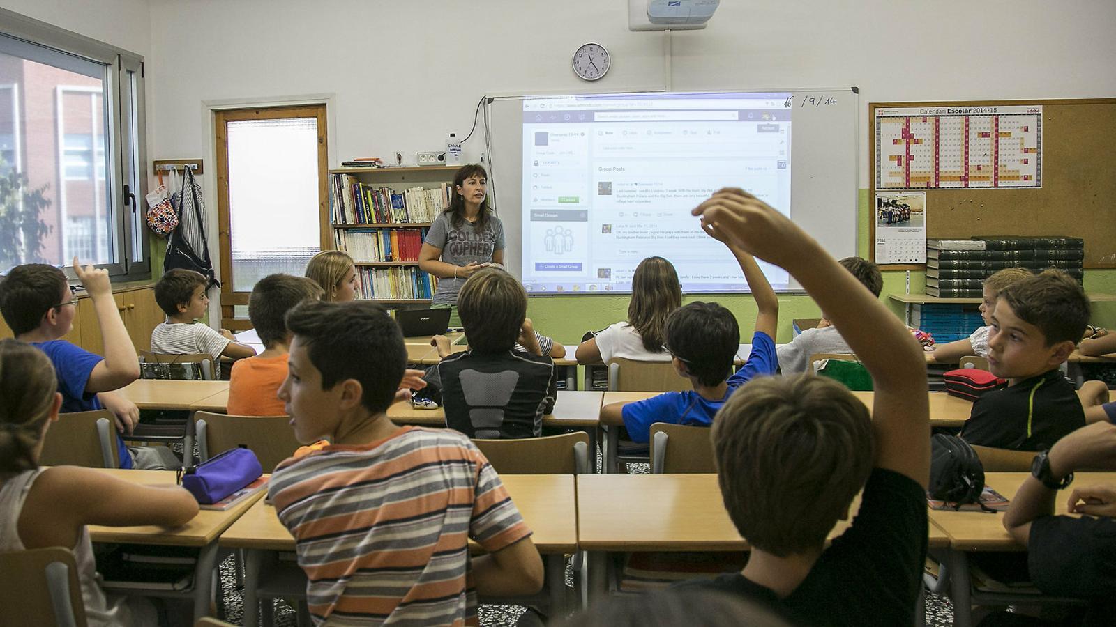 L'avantprojecte de llei educativa reobre el debat de la llengua a l'escola