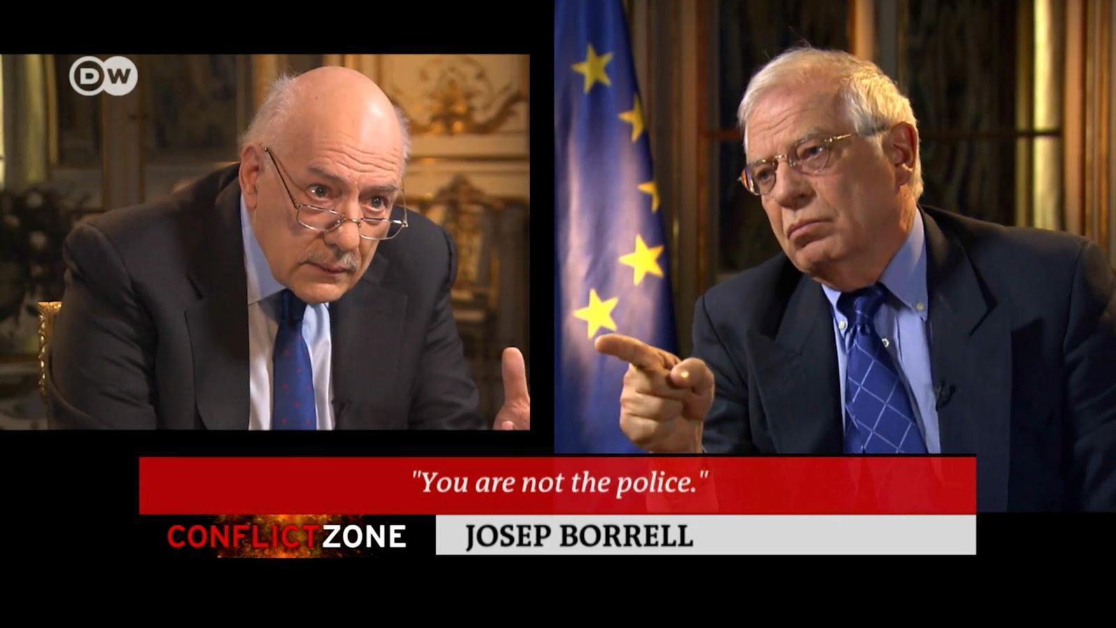 L'anàlisi d'Antoni Bassas: 'Una dona confinada 15 hores al dia en una cel·la, ¿és aquesta la imatge que volen ensenyar al món, senyor Borrell?'