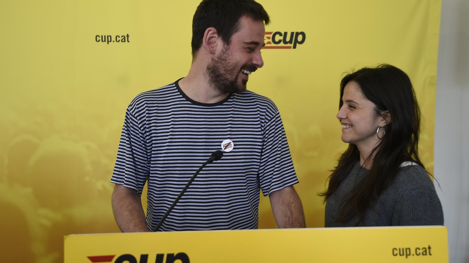 La CUP decideix mantenir l'abstenció en la investidura de Torra