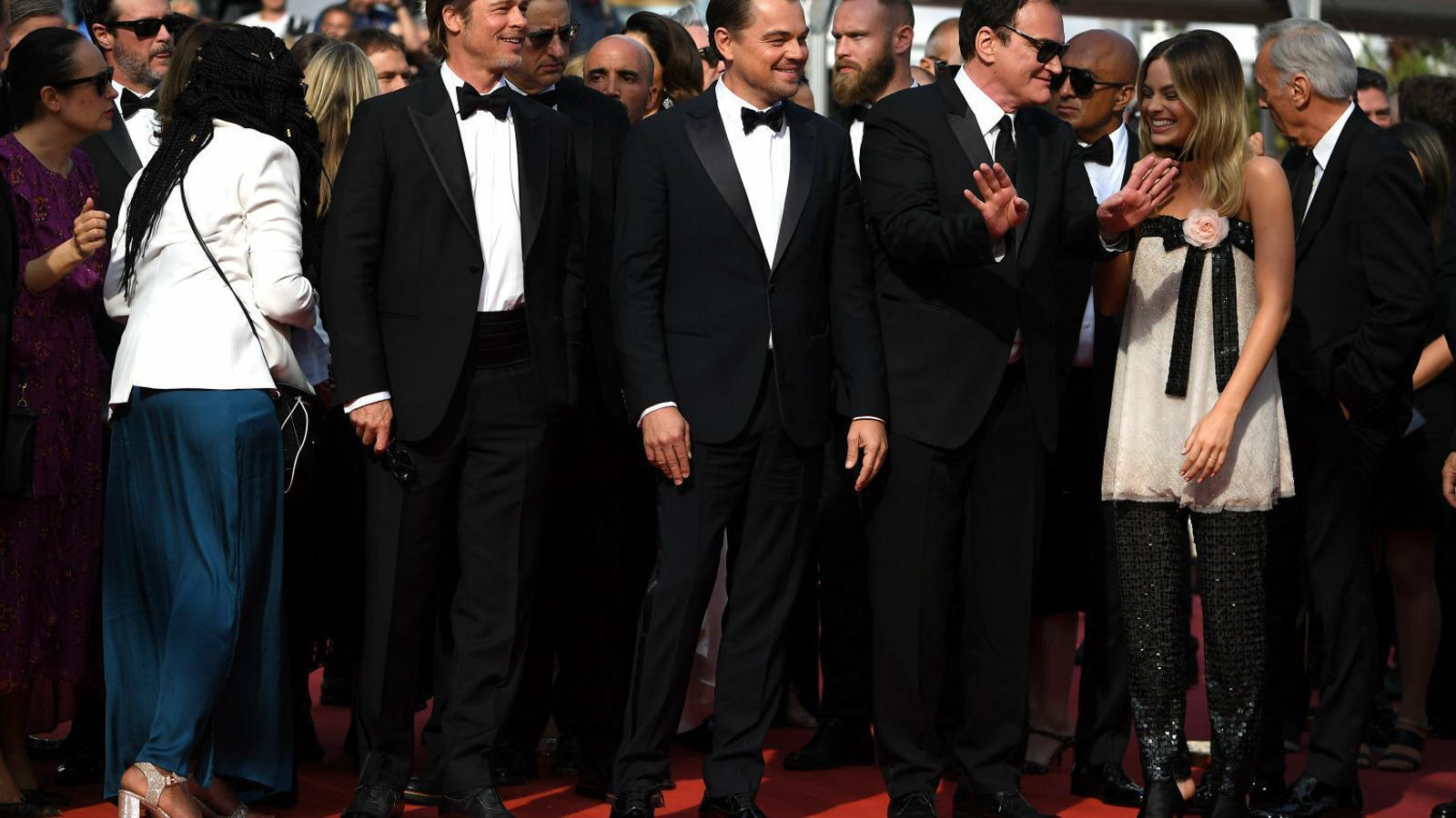 Canes vibra amb el Tarantino més cinèfil