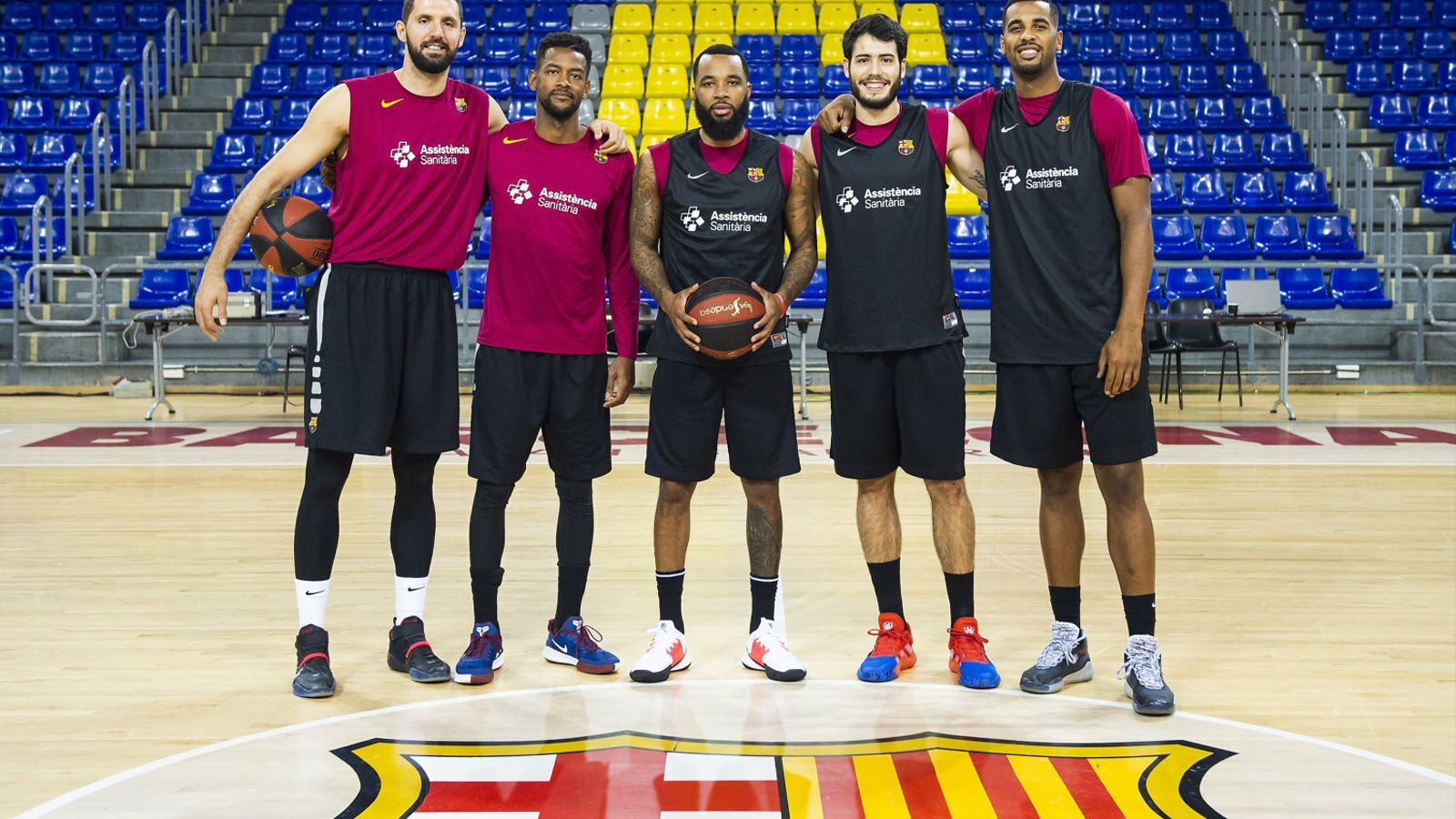 Els nous fitxatges del Barça de bàsquet per a aquest curs.