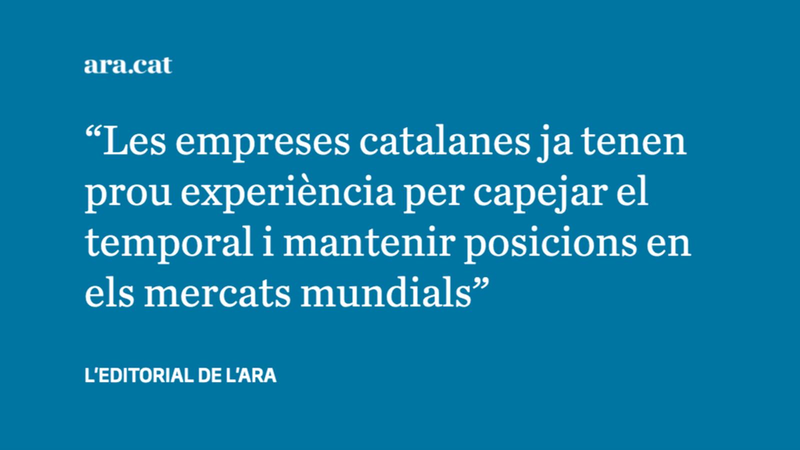 Catalunya, un motor exportador