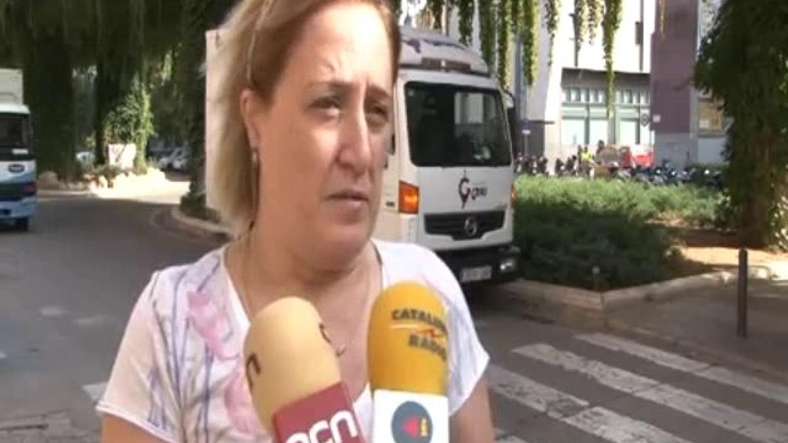 La directora de l'institut de Llançà: Encara que les pàgines només han estat deu dies operatives, el mal ja està fet