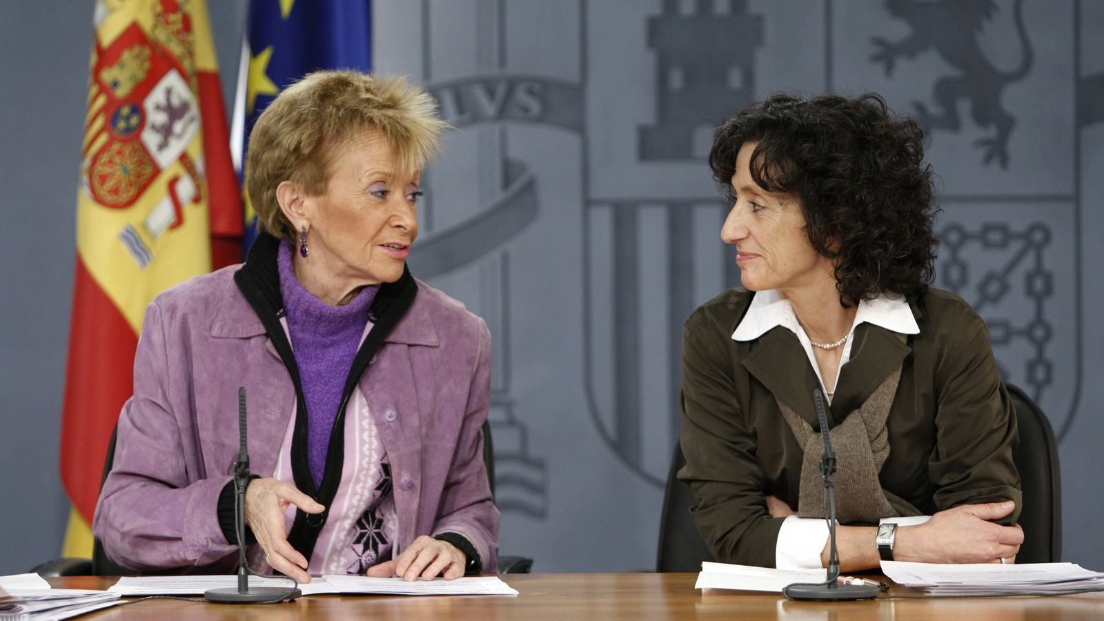 María Teresa Fernández de la Vega presidirà el Consell d'Estat