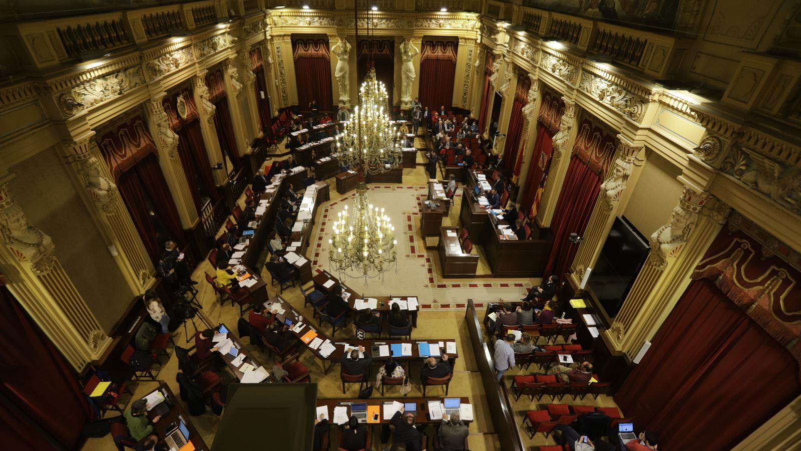 El Parlament balear