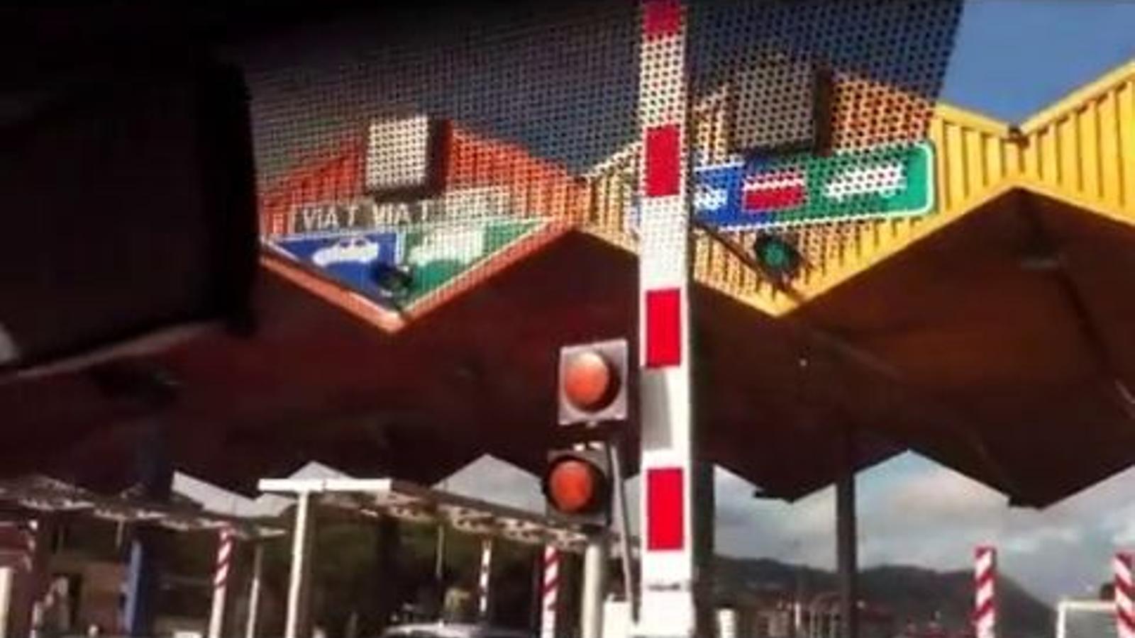 Un nou conductor revoltat contra els peatges: No vull pagar a la C-32, a Vilassar