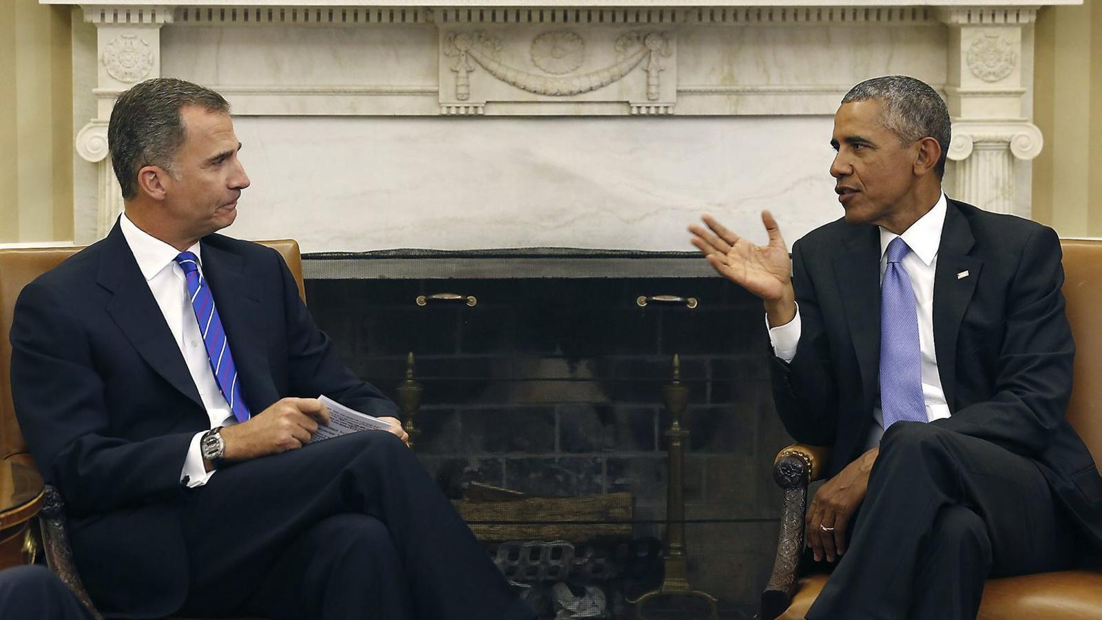 Obama, compromès a mantenir la relació amb una Espanya forta i unida