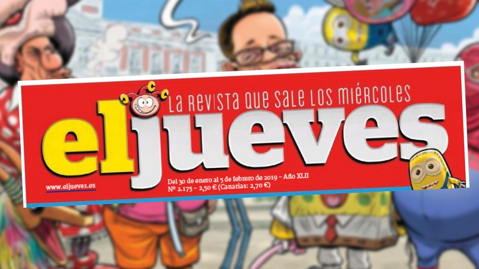 L'anàlisi d'Antoni Bassas: 'L'Espanya real requisa la roba de color groc i 'El Jueves''
