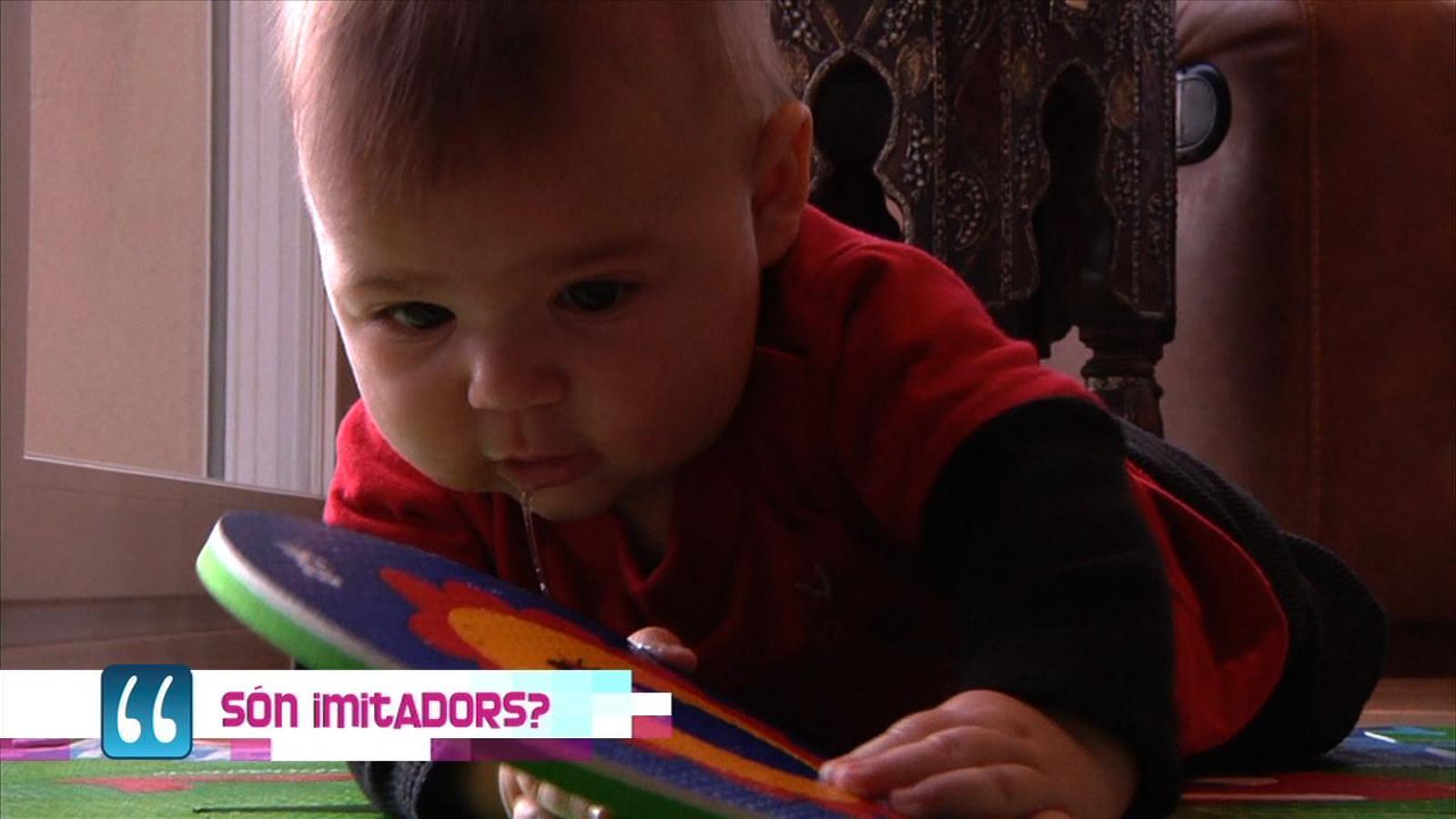 Criatures: el nadó és un imitador?
