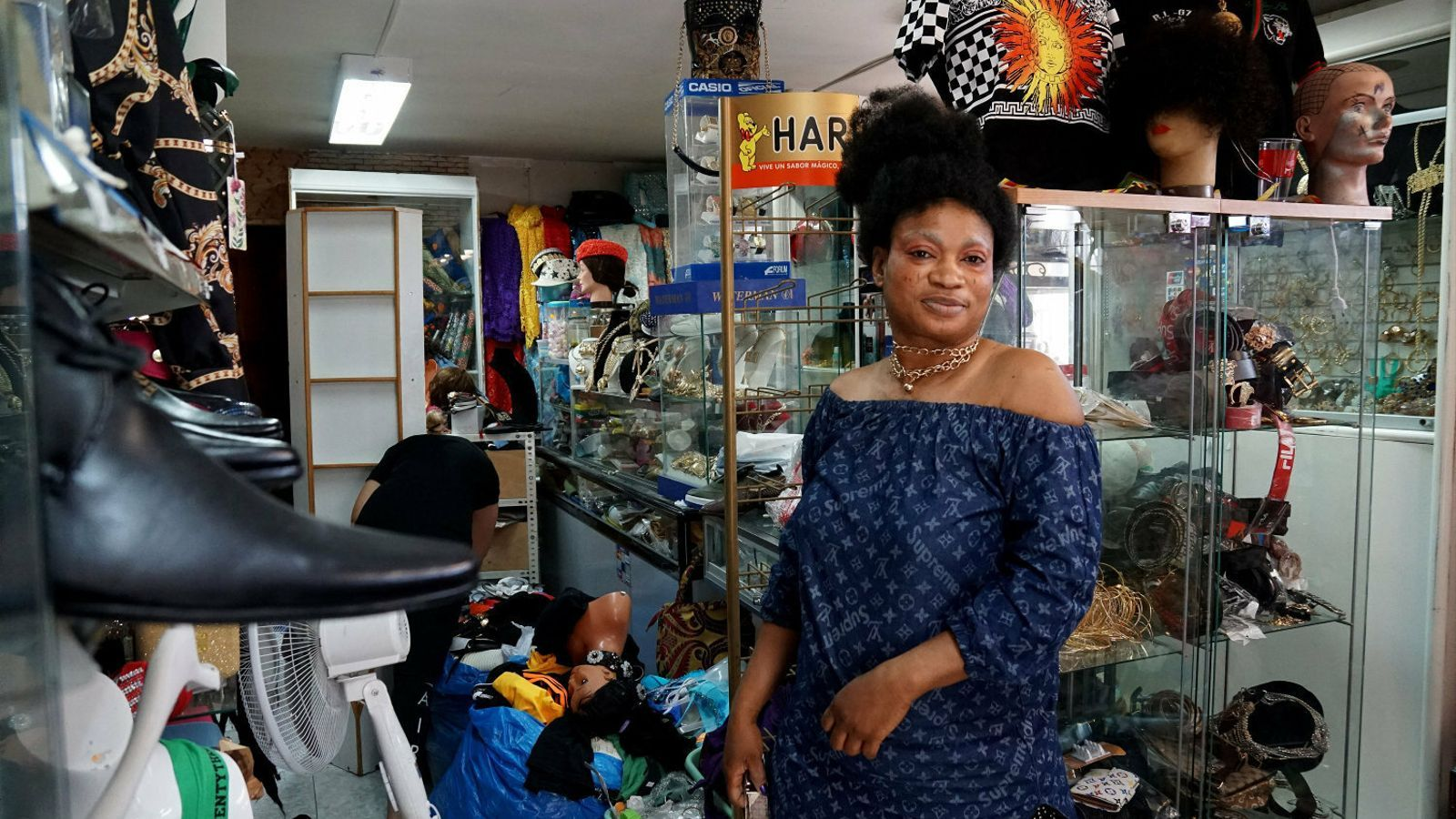 Es dupliquen a Son Gotleu els negocis   amb dones africanes al capdavant