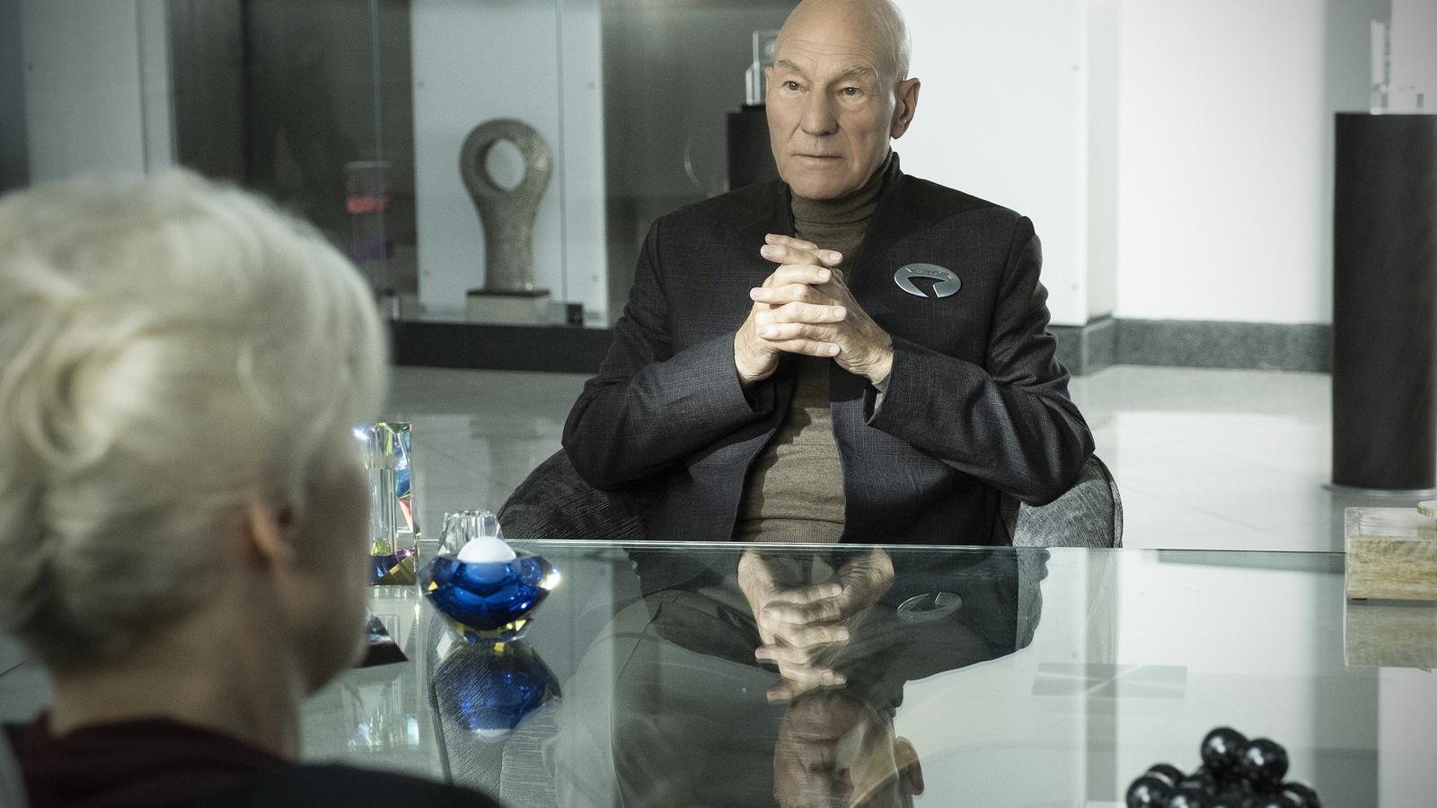 El capità Picard torna a comandar 'Star Trek'