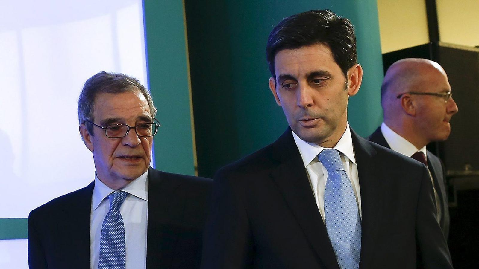 José María Álvarez-Pallete va substituir César Alierta a la presidència de Telefónica a principis de mes.
