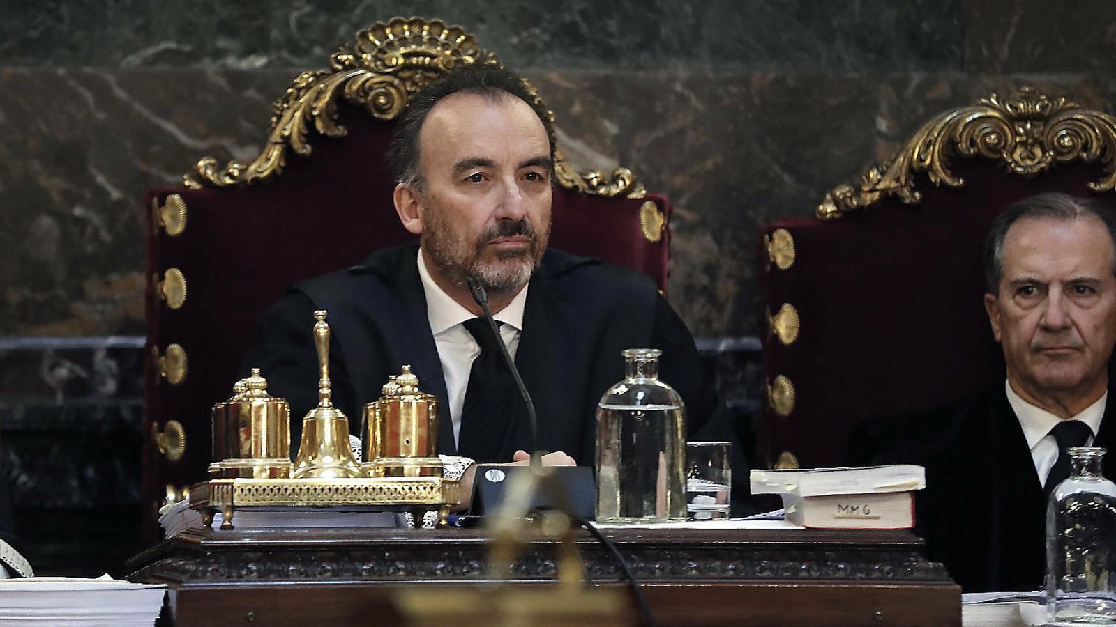 El jutge Manuel Marchena en una imatge d'arxiu