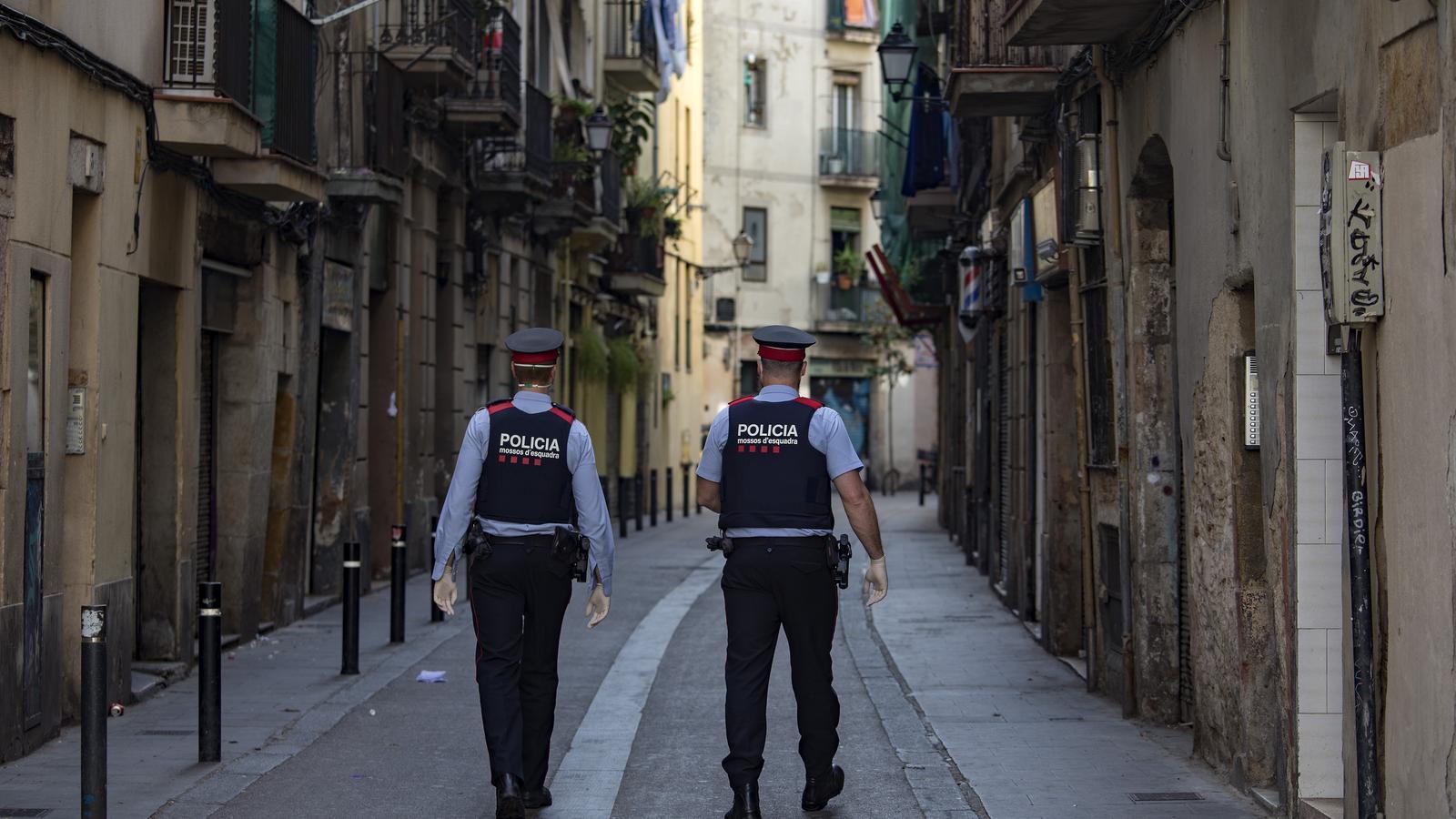 Barcelona té 159 lladres multireincidents que utilitzen la violència