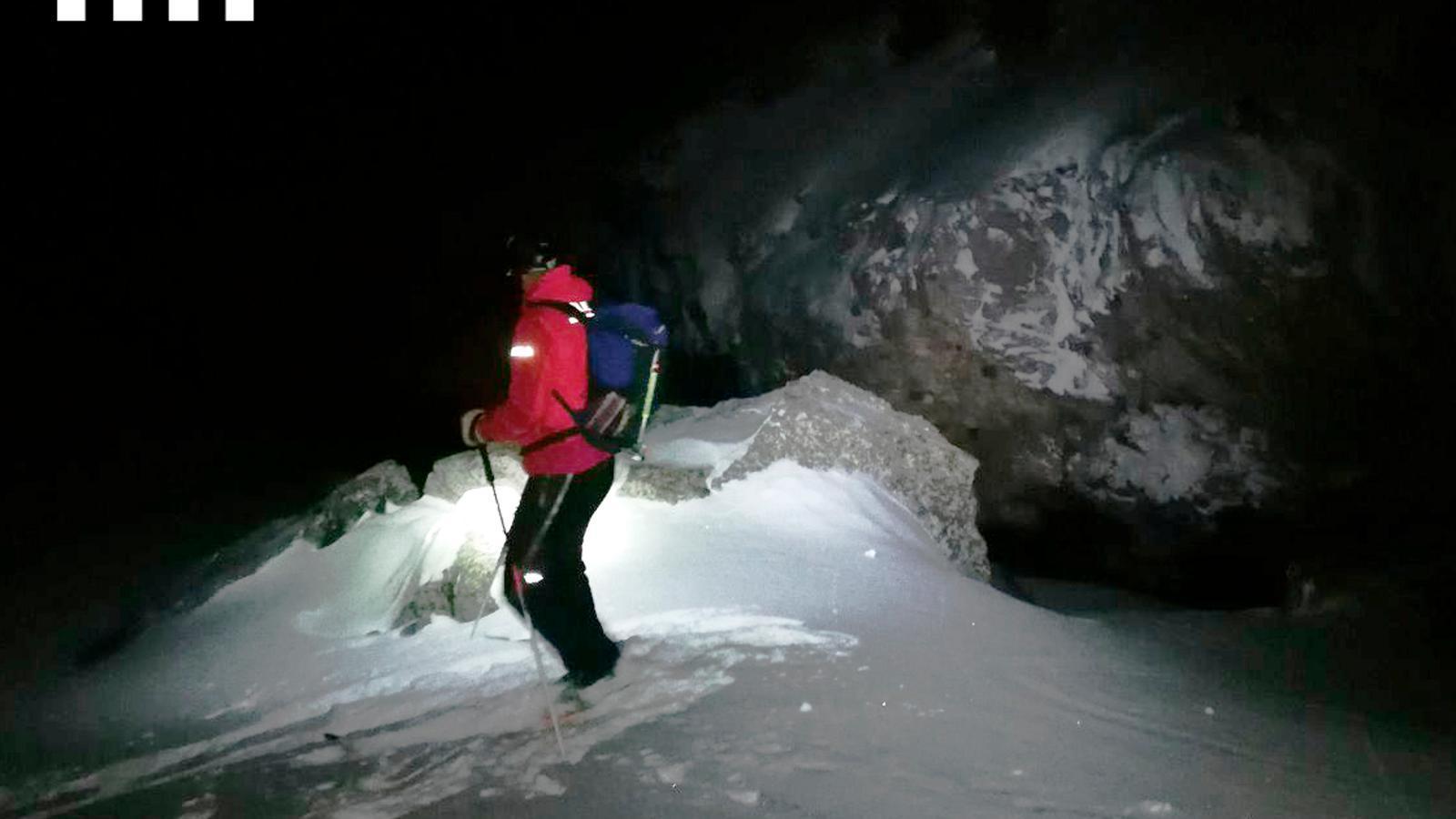 Apareixen a la Catalunya del Nord dos excursionistes que pujaven a un pic del Ripollès